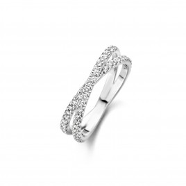 Martens Classic 0,60ct - Alliance ring in white gold and diamond