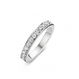 Eternity A 0.35ct - Alliance ring in white gold and diamond
