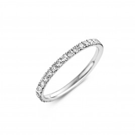 Martens Classic 0,33ct - Alliance ring in white gold and diamond