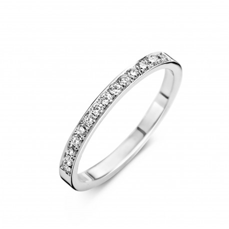 Eternity A 0,21ct - Alliance ring in white gold and diamond