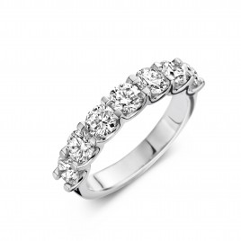 Martens Classic 2,02ct - Alliance ring in white gold and diamond