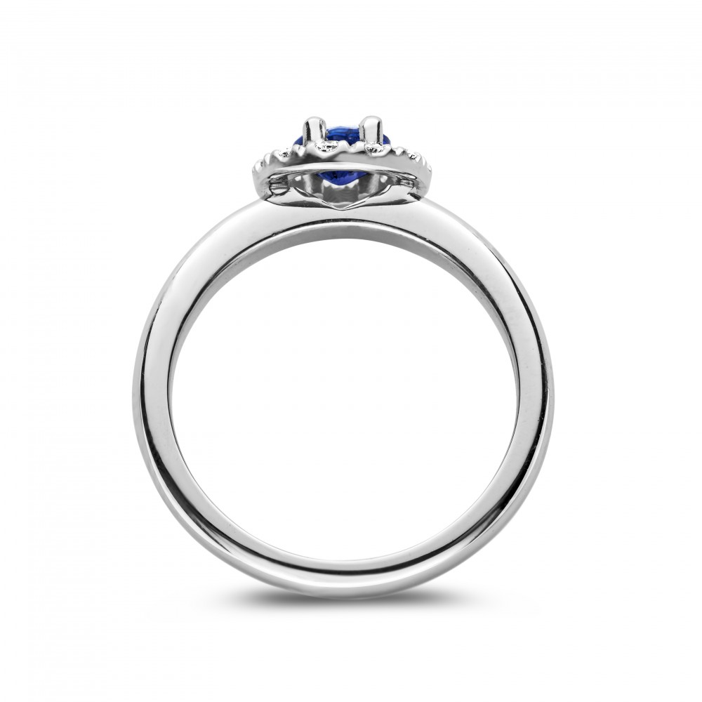 engagement ring white gold sapphire diamond maui. Black Bedroom Furniture Sets. Home Design Ideas